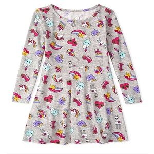 NWT • Children's Place Printed Skater Dress size 4